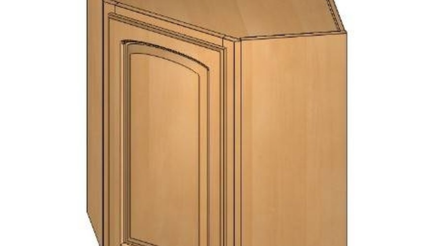 How to Build a Diagonal Wall Kitchen Cabinet | HomeSteady