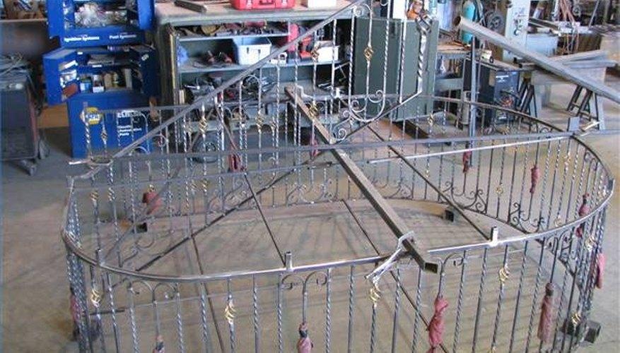 Railing Built in Shop