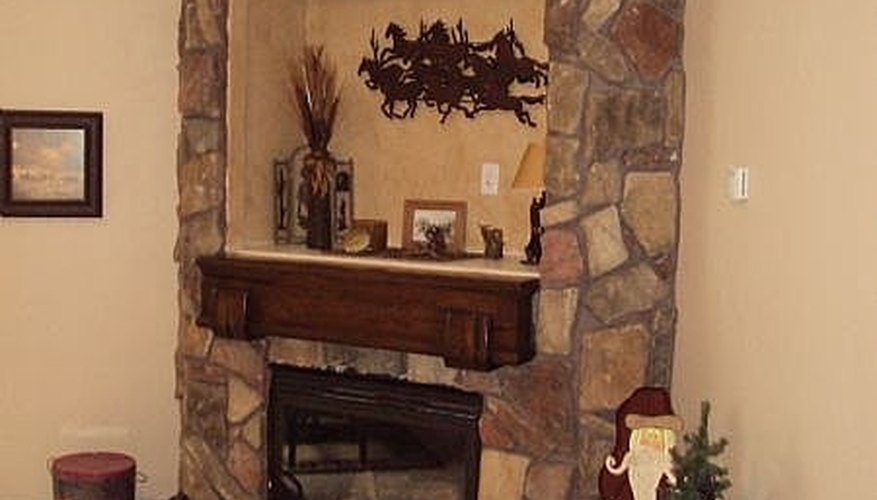 Install Veneer Stone on a Fireplace
