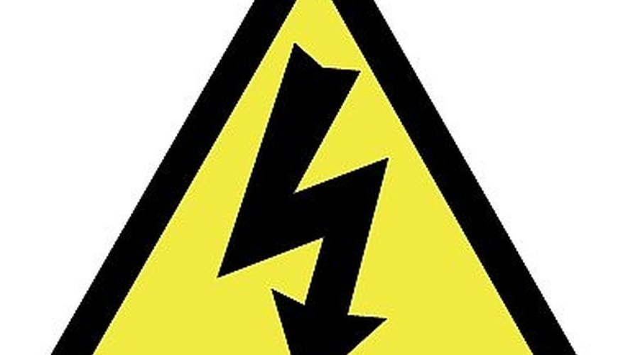 Be careful with electricity!