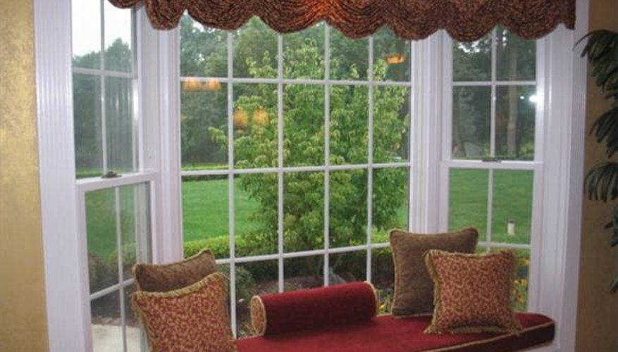 Build a window seat for your bay window.