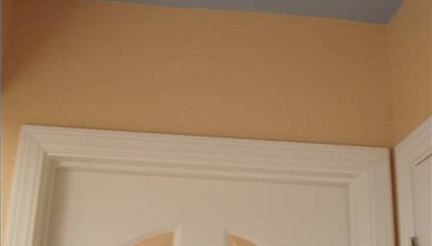 Painted walls and ceilings