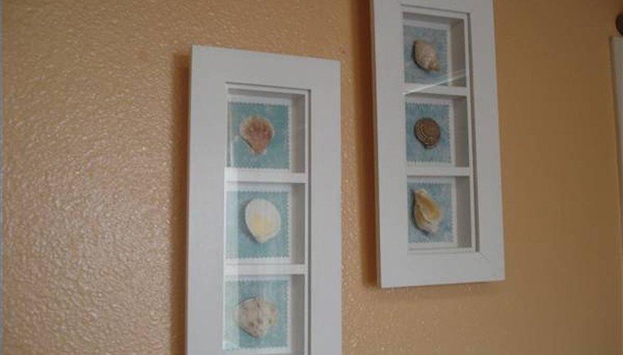 Framed art pieces