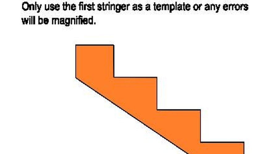 The finished stringer can be used as a template for the rest.