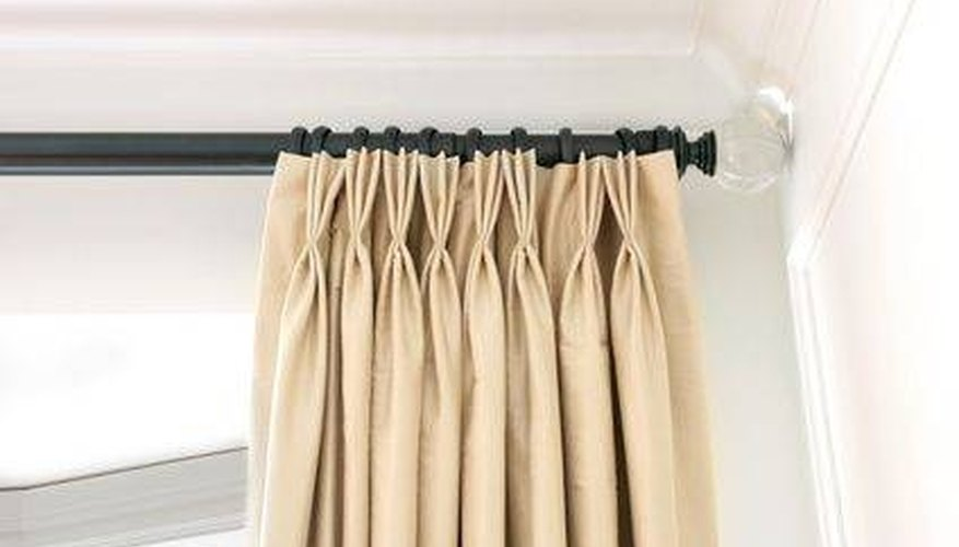 Drapes with clips