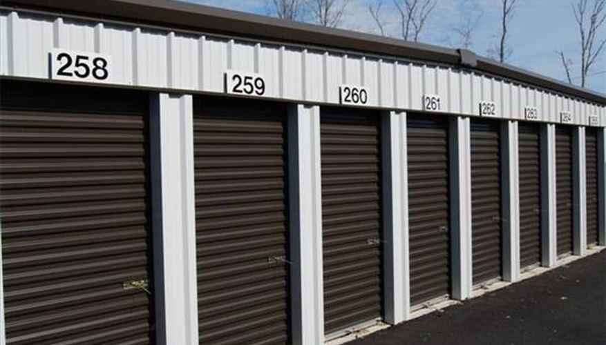 Storage Units are Easy to Maintain