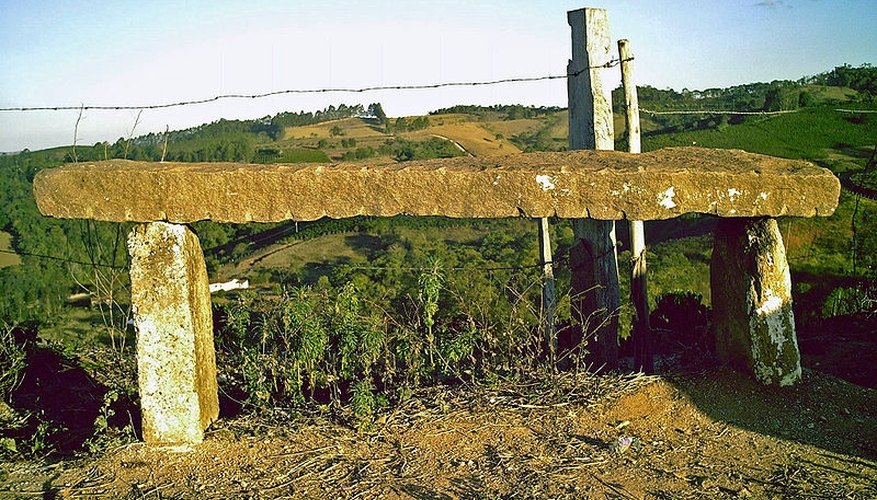 Natural stone bench,  Laerciouam