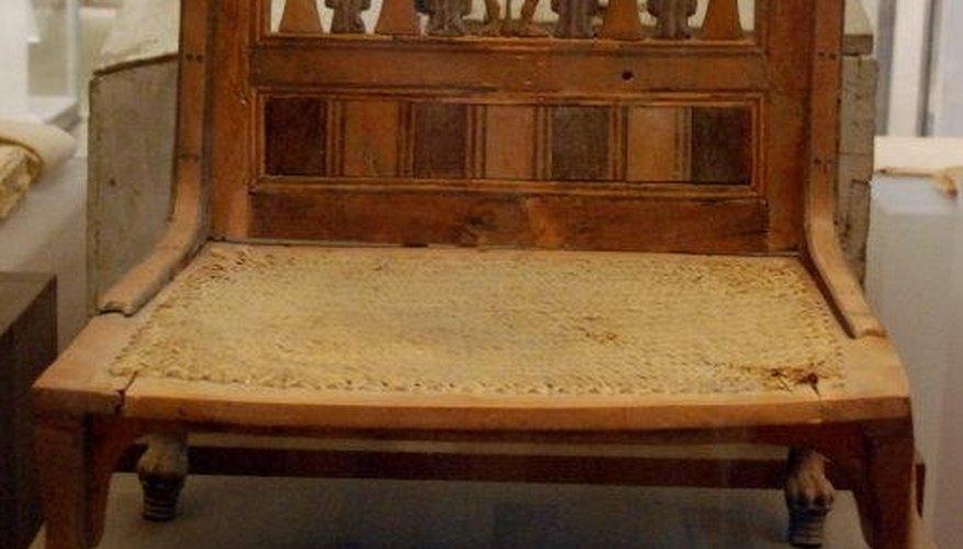 18th Dynasty Egyptian Chair, Hans Ollermann
