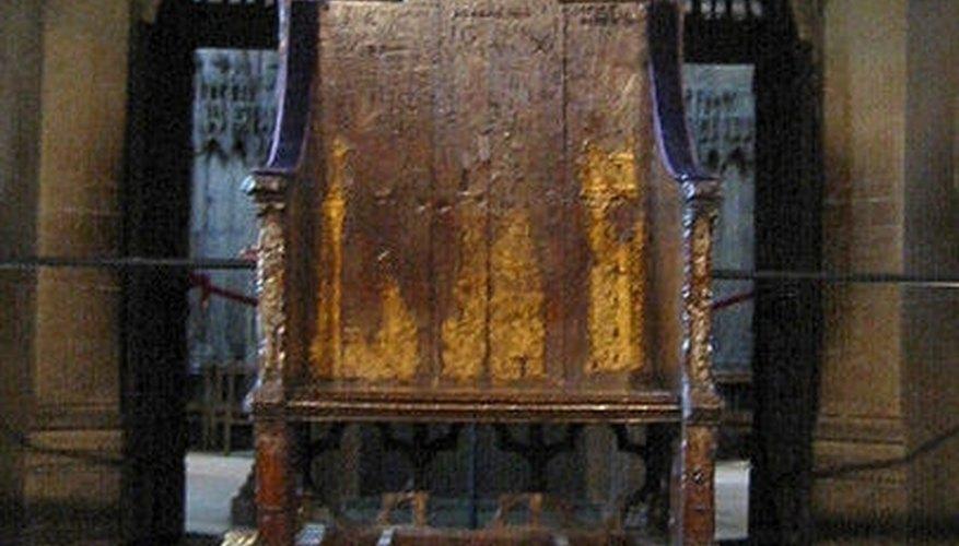 Coronation chair of Edward  I, Kjetil Bjørnsrud