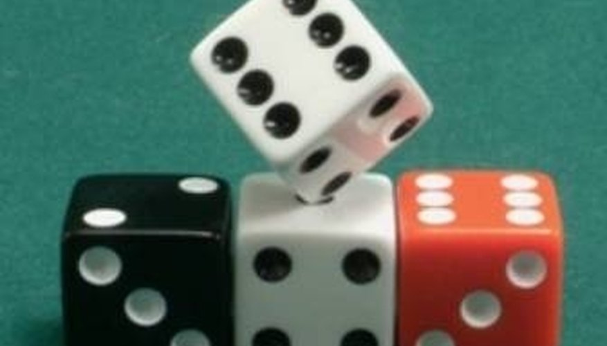 Bunco is played with at least four dice.