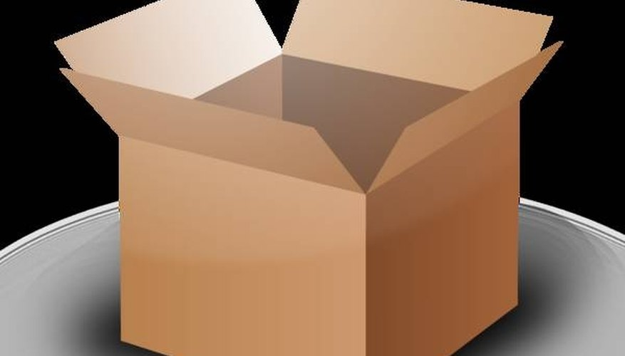 Collect sturdy cardboard boxes for your move.