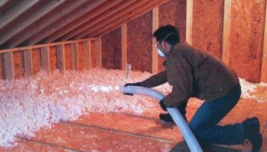 Blown-in insulation is a popular choice for attics and exterior walls.