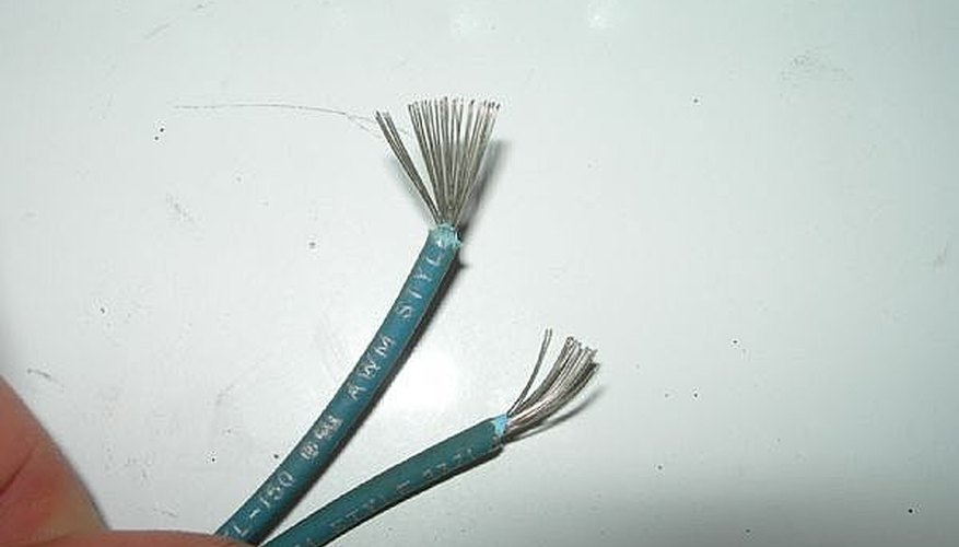 Fanned wires - electric stove parts