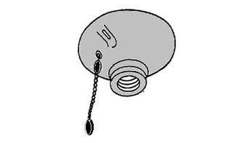 Light fixture with a pull switch
