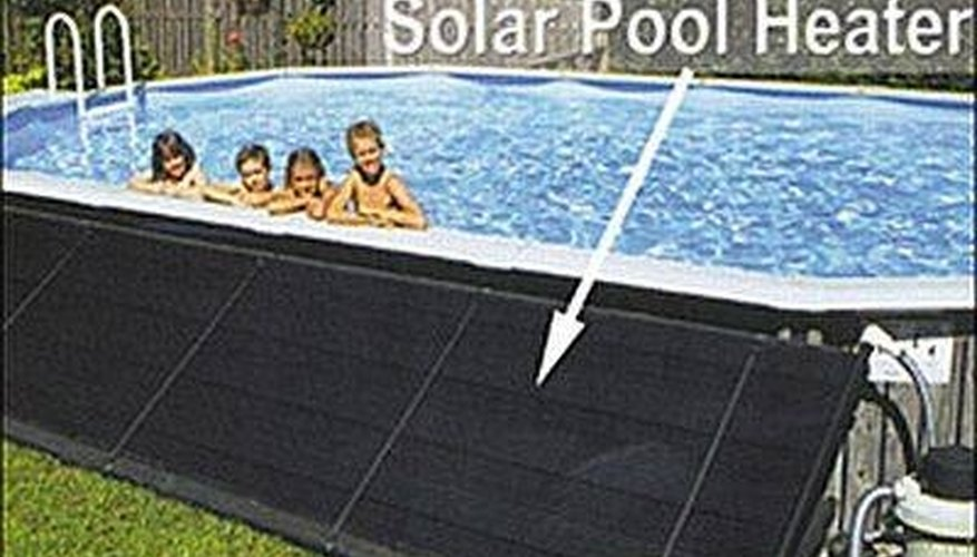 Solar pool heaters are efficient and environmentally friendly.