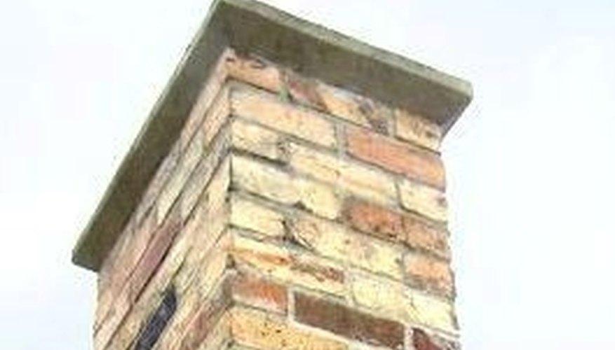 Cement chimney cap
