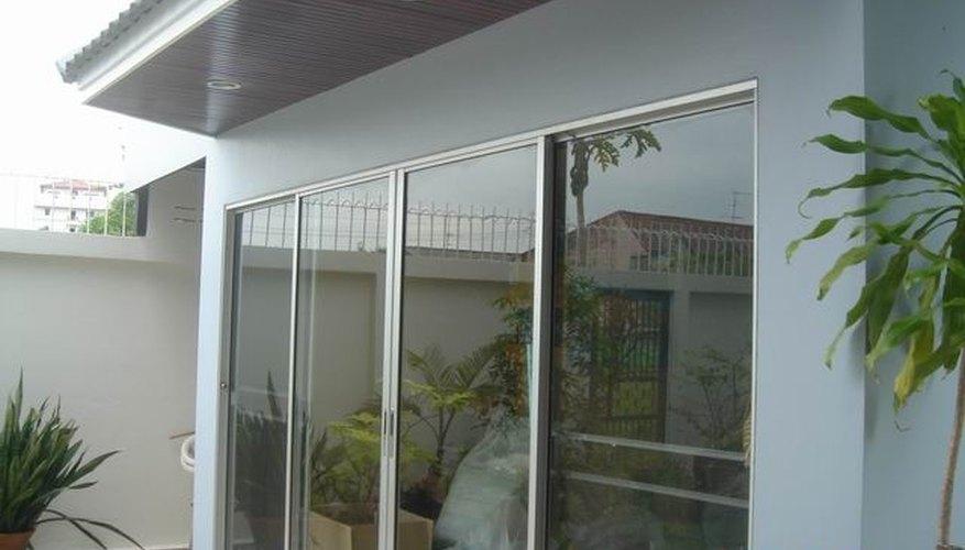 Four-panel Sliding Door
