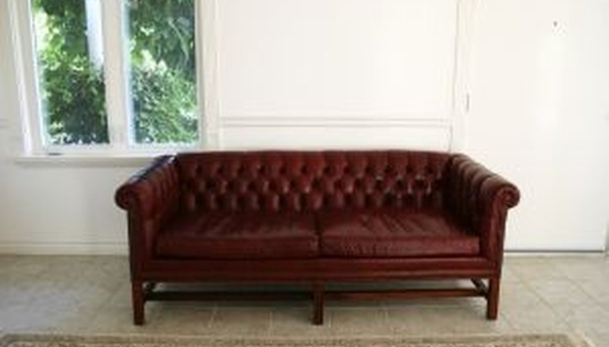 Protect your leather couch from ink stains.