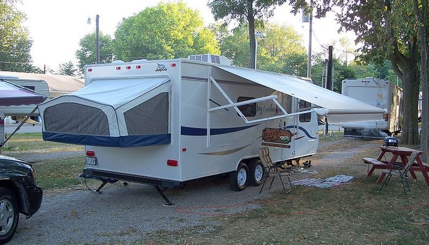 How to Clean Bad Mildew Stains on Campers