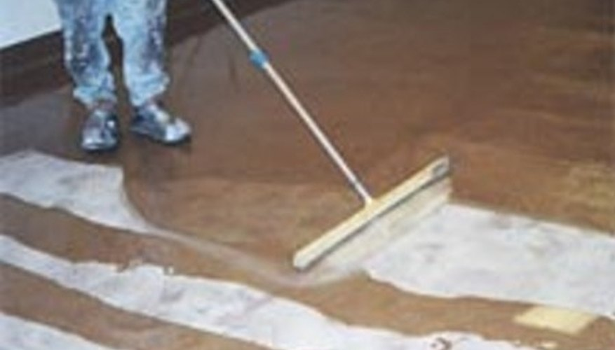 Epoxy flooring is a do-it-yourself project, but the instructions must be followed exactly.