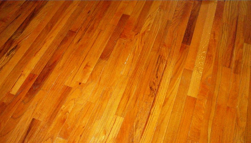 Keep wood floors looking great