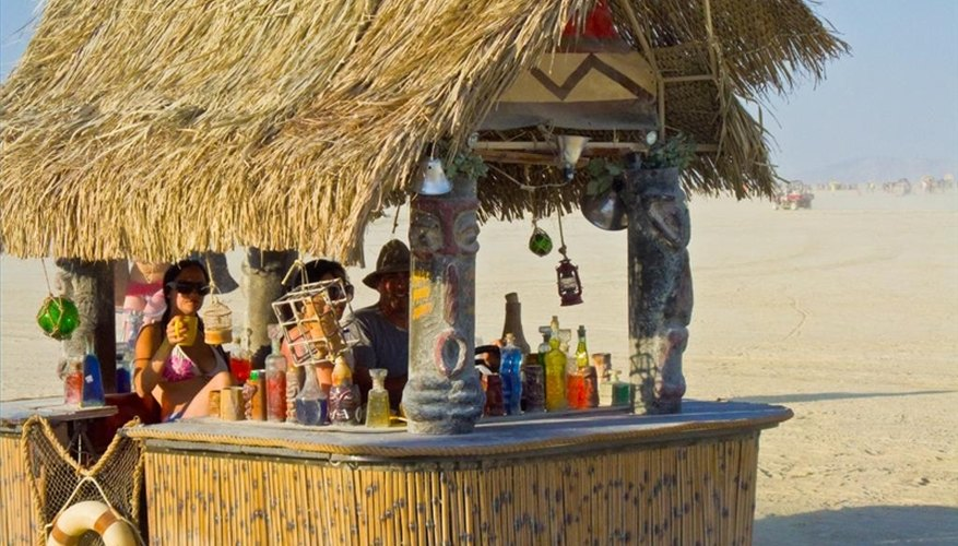 Tiki Bar Backyard Ideas