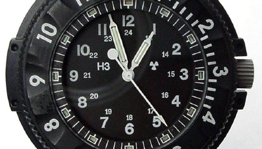 A Stocker & Yale Sandy P650 Type 6 Navigator watch