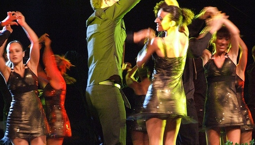 An example of mambo dancing
