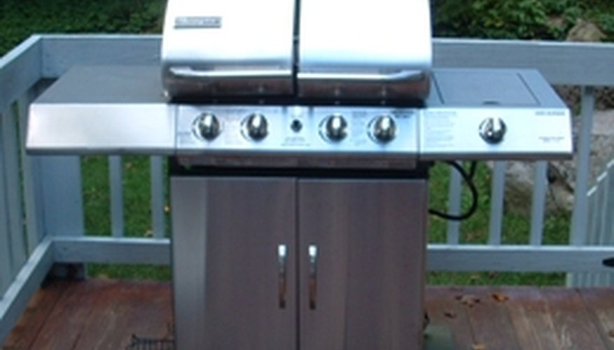 Propane-powered grills are extremely popular.