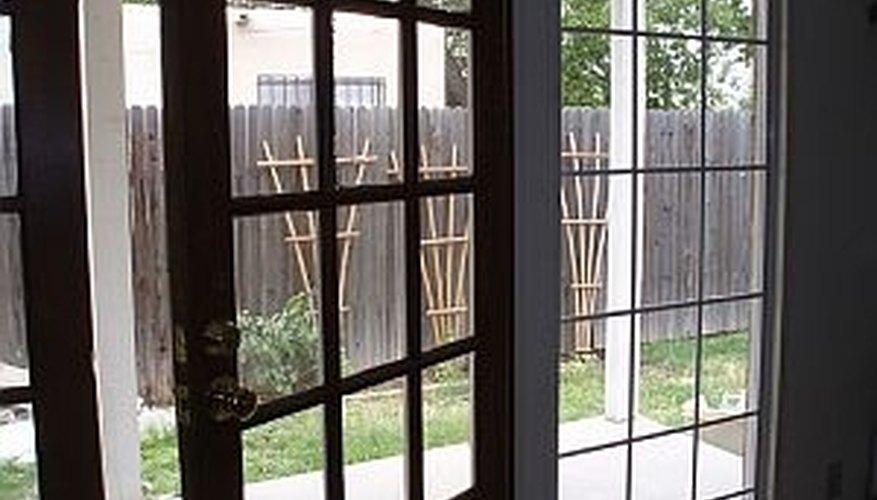 Enhance your patio doors.