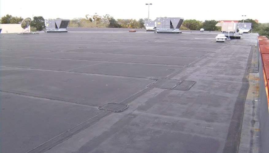 A rubber roof.