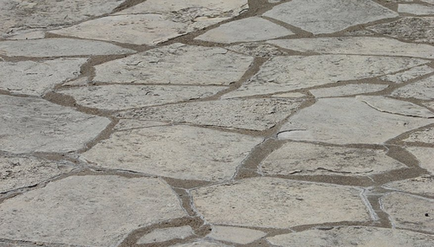 There are several things to think about when laying flagstone.