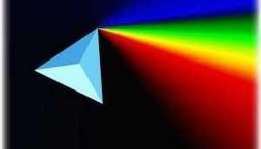 A spectrum of colors.