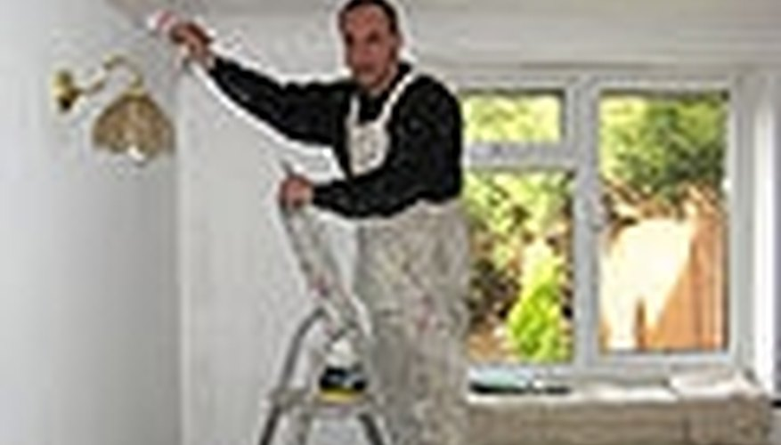 Prepare The Walls For Painting Or Wall Papering