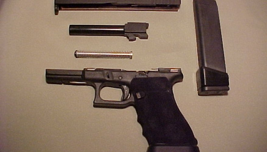How to field strip a Glock 17