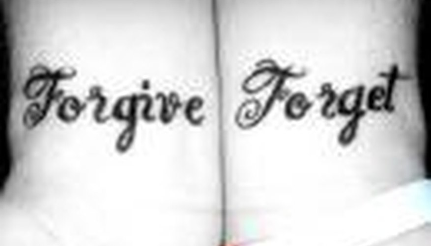 Forgive and Forget When Someone Hurts You