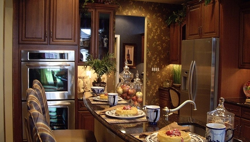 Many household appliances are available in either gas or electric models..