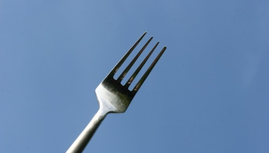 Turn a fork into a piece of art.