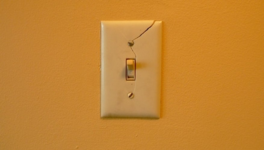 Replace an old or broken wall switch.