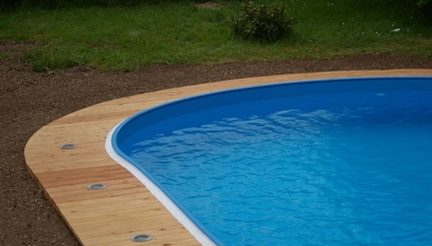 Cracks in pools aren't too difficult to repair.