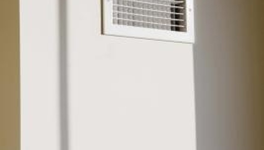 Air conditioning vents can be replaced with sleeker, more modern models.