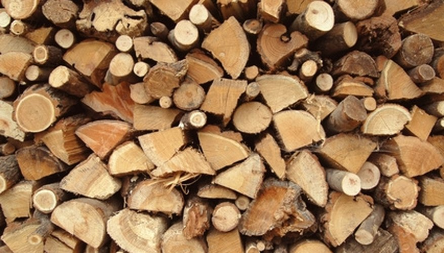 Wood for a stove