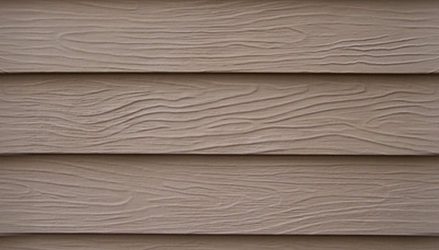 Clapboard siding gives your home a natural wood look