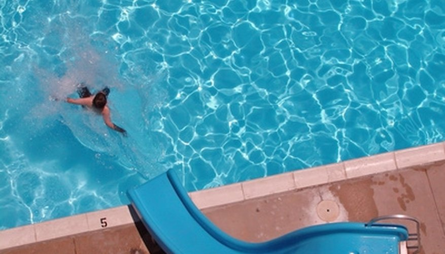 Maintaining your pool slide is the key to its long life