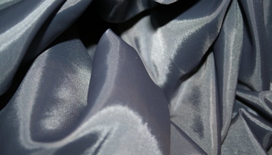 Remove hairspray stains from silk fabric