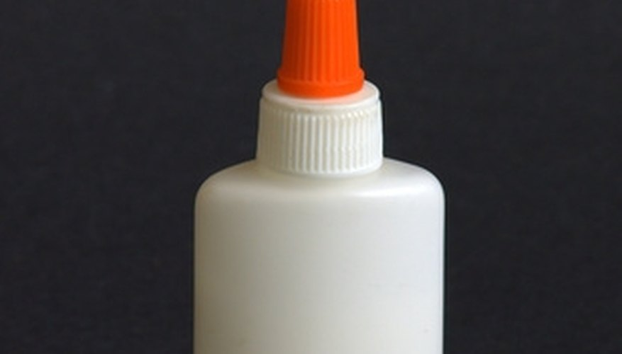 Krazy Glue is a powerful glue that doesn't come off easily.