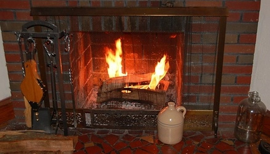 It is not difficult to clean your fireplace hearth.