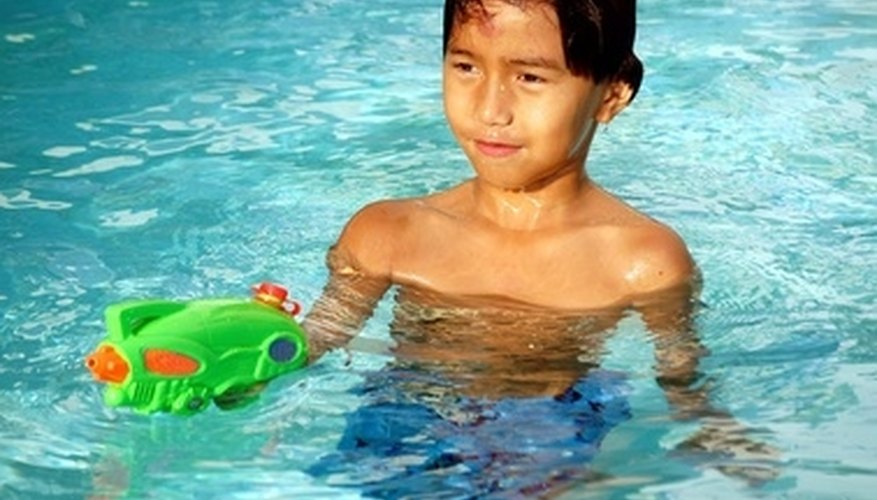 Above ground pools need regular maintenance to keep them safe for swiming.