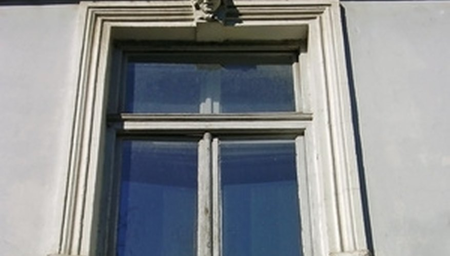 Replace the seal on a double-pane window to ensure proper insulation.