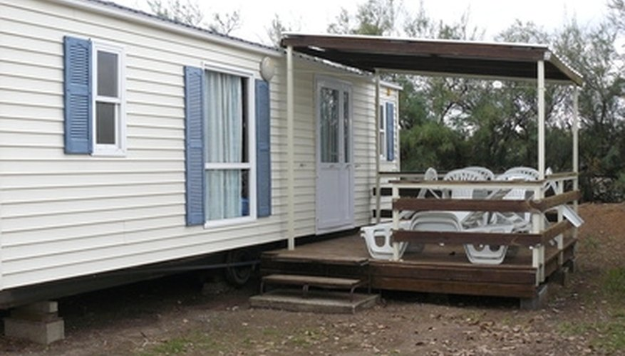 mobile homes need skirting to protect the underside of the home